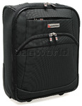 Qantas Heathrow Small/Cabin 45cm Softside Suitcase Charcoal 80745