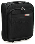 Qantas JFK Small/Cabin 45cm Softside Suitcase Black 30745