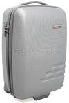 Qantas Spectre Small/Cabin 55cm Hardside Suitcase Silver 90855