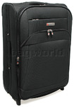 Qantas Heathrow Medium 64cm Softside Suitcase Charcoal 80766