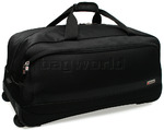 Qantas JFK Large Wheel Duffle Black 30774