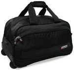 Qantas JFK Cabin Wheel Duffle Black 30750