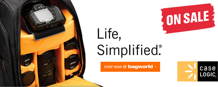 Case Logic Camera & Laptop Bags @ Bagworld