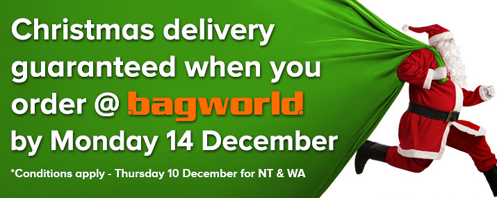 Christmas Delivery @ Bagworld