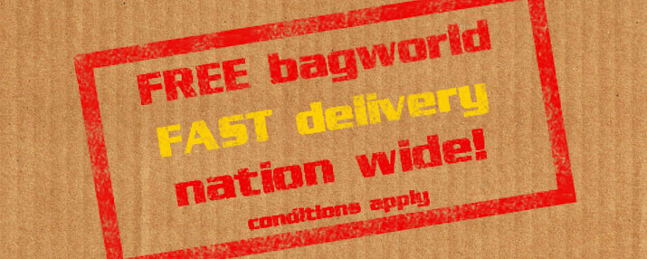 FREE & FAST DELIVERY @ Bagworld