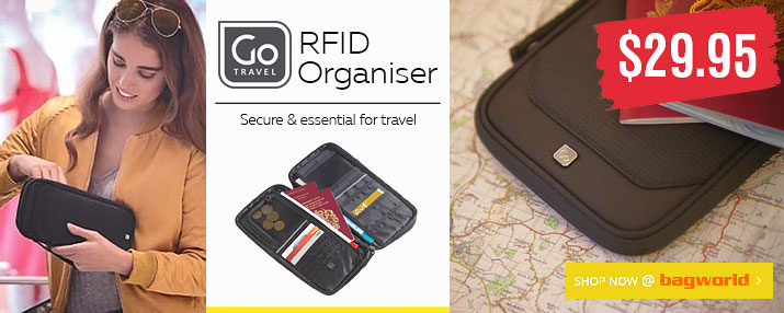 Go Travel RFID Organiser @ Bagworld
