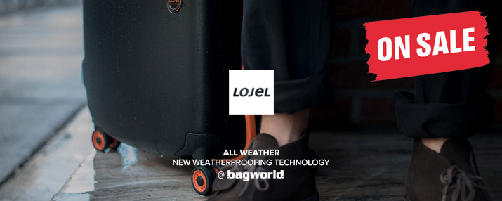 Lojel Luggage @ Bagworld