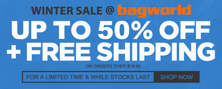 WINTER SALE @ Bagworld